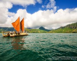 Warm welcome home for Hokule'a
