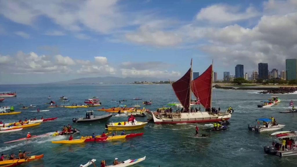 Hokulea arrival Honolulu_June 17 2017