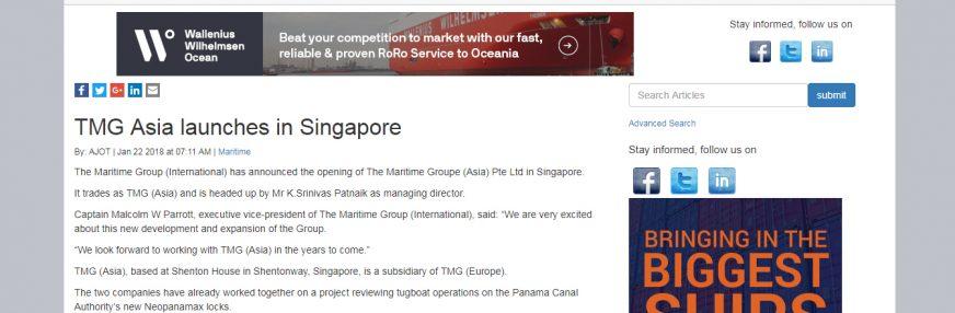 TMG Asia makes headlines worldwide